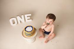 Michigan Cake Smash Photography-