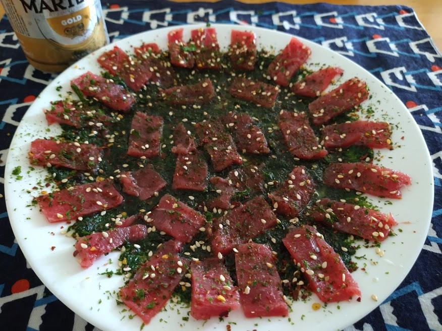 sushi aonori