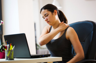 DO YOU HAVE SHOULDER and NECK  PAIN?  THE MOST EASY AND EFFECTIVE WAY TO REDUCE STRESS is....
