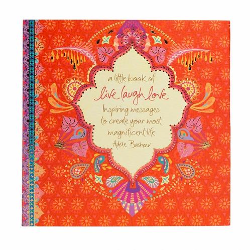 Live Love Laugh Quote Book