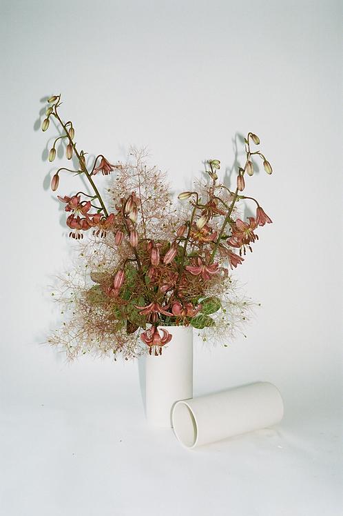 Porcelain Market Vase