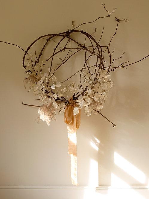 Fall Wreath: Lunaria