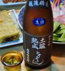 上原酒造の越後鶴亀 純米吟醸 土蔵熟成 ひやおろし