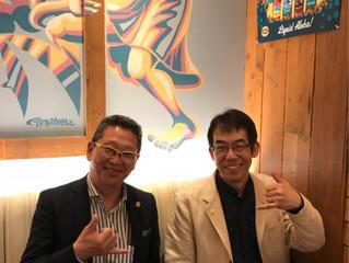全日本趣味起業協会 代表理事 戸田充広先生に報告
