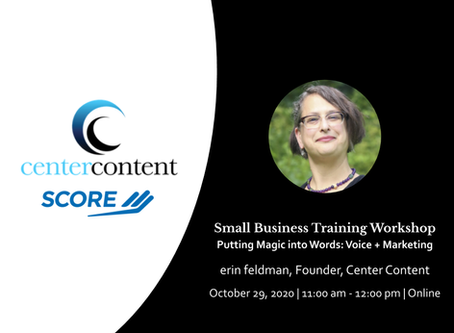 Small Business Training Workshop