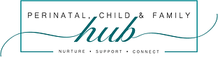 Perinatal, Child & Family Hub Logo WEB R