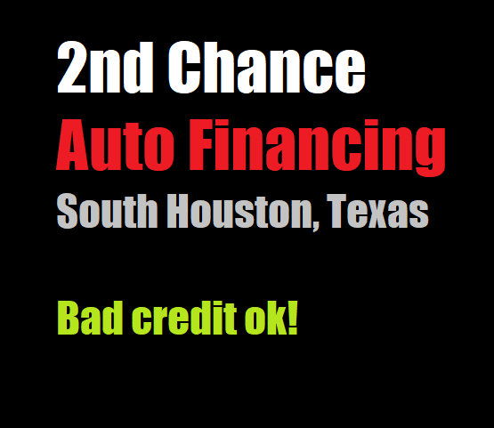 2nd chance auto financing houston tx