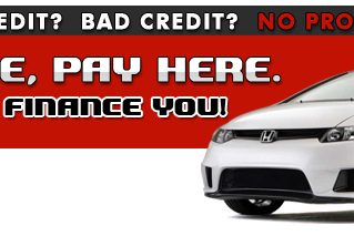 Buy Here Pay Here Car Financing