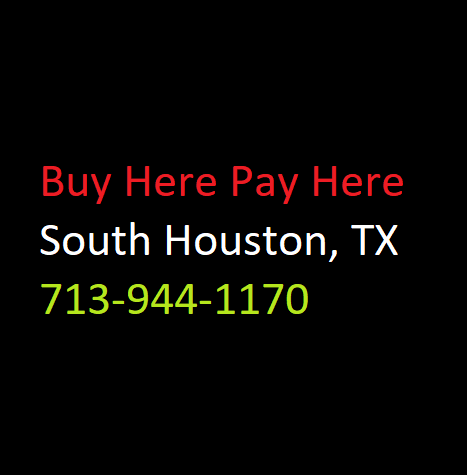 buy here pay here houston