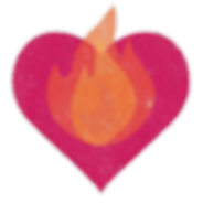 Pink Heart and Fire Clear.png
