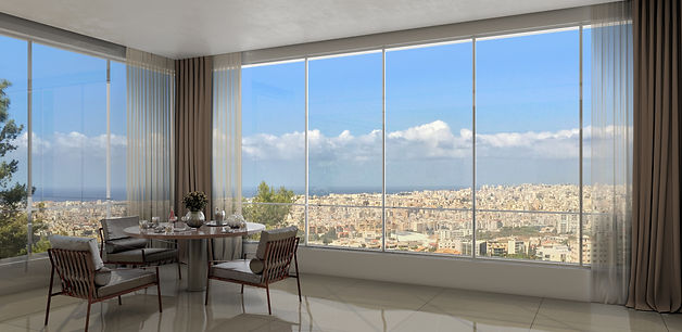Hayat Residence - overlooking the city of Beirut
