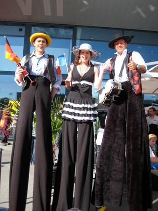 Empfang am Jubiläumsfest EWB Bern