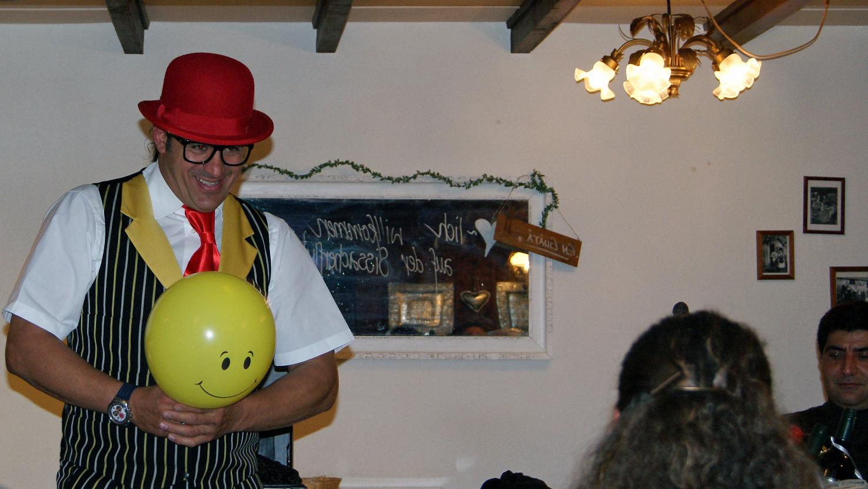 Zauberer, Komiker, Dinnerspektakel