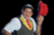 Rey Reloba, Komiker, Zauberer, Situationskomik, Show, Attraktion, Animation