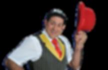 Rey Reloba, Komiker, Zauberer, Clown, Unterhaltung an Events, Animation, Attraktion, Künstler