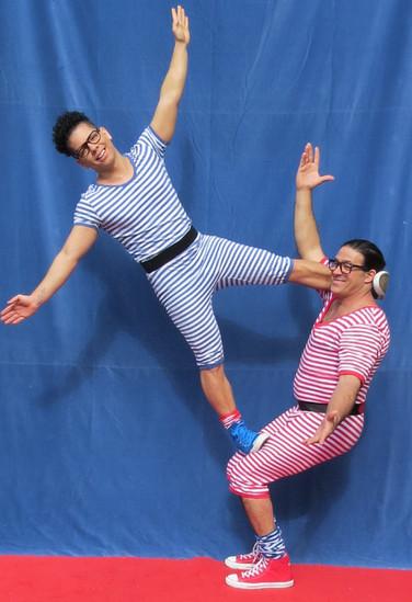 Akrobatik Rey und Cuqui