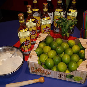 Mojito-Bar, Noche Cubana