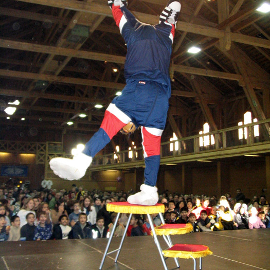 Comedy Akrobatik Figur