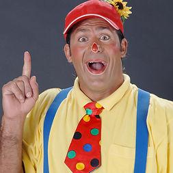 Clown Nuny, Kindergeburtstag, Kinderanimation, Zauberer, Show