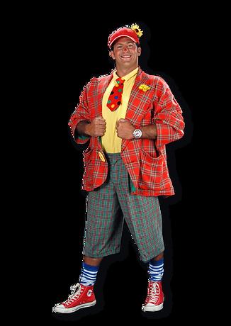 Clown und Zauberer für Kindergeburtstag