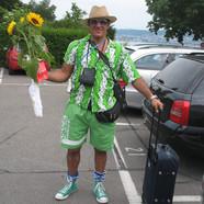 Überraschungsgast Tourist
