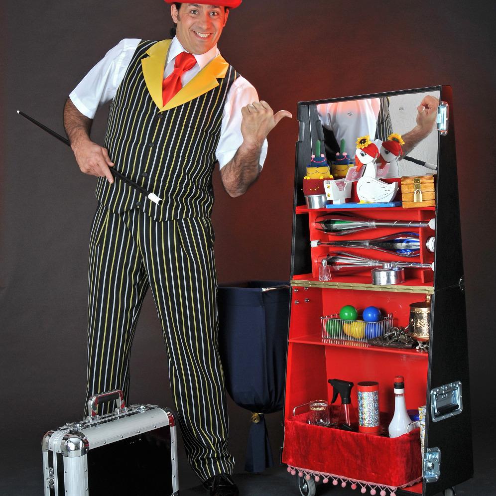 Bühnen-Zauberkoffer
