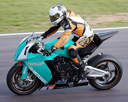 Dave Wood KTM RC8 2009 Champion