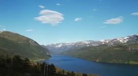 View towards Haukedalen