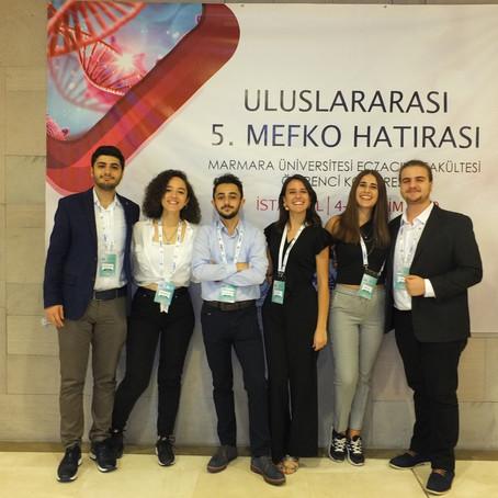 Uluslararası 5. MEFKO'ya Katılım