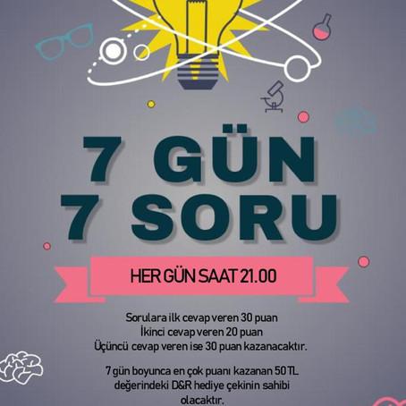 7 Gün 7 Soru