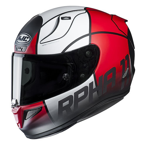 HJC Rpha 11 Quintain Red