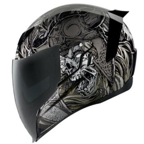 Icon Airflite Krom Black Helmet