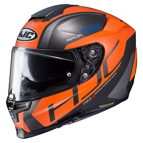 HJC RPHA 70 Vias Orange