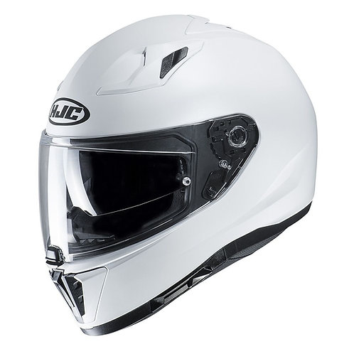HJC i70 Solid Gloss Pearl White