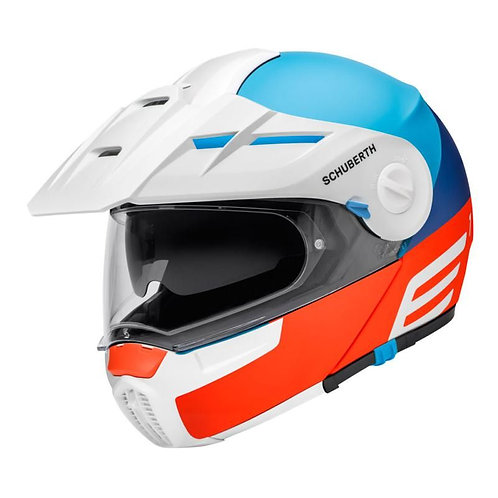 Schuberth E1 Adv/Tour Cut Red Blue