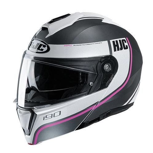 HJC i90 Davan Pink