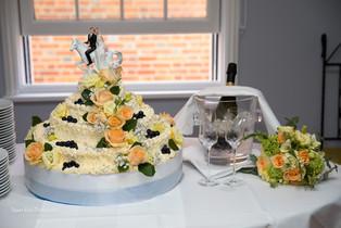 Sicilian style wedding cake