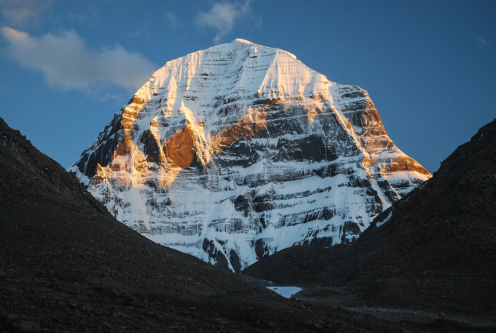 Kailash. The north face of the mountain.