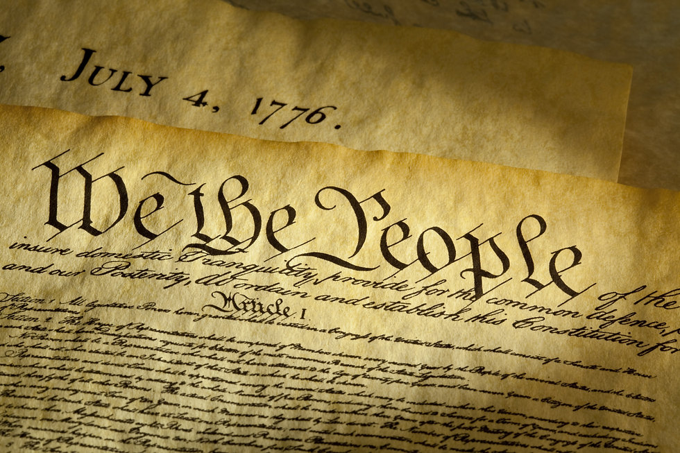 We the People are the opening words of t