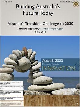 2018 Katharine McLennan on Australia Tra