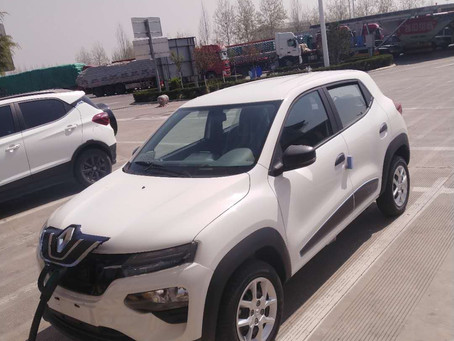 We exports electric car from China to Europe
