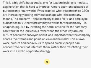 Leading + Org Culture Today