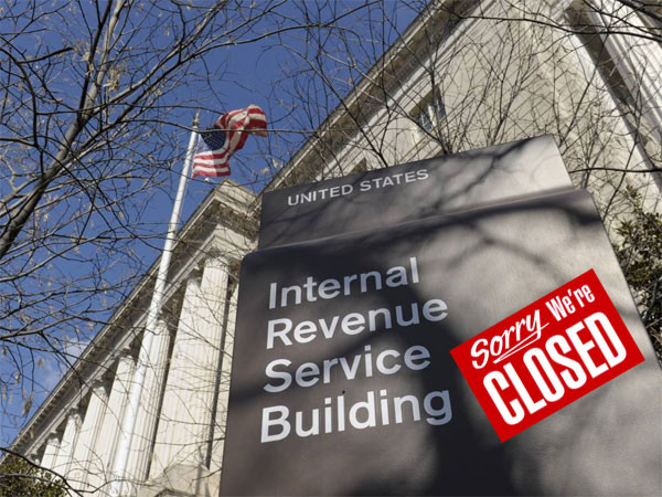 In a Shutdown, IRS Will Take Your Money, but Give No Refunds
