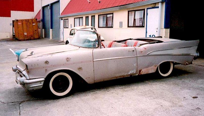 1957 Chev Convertible