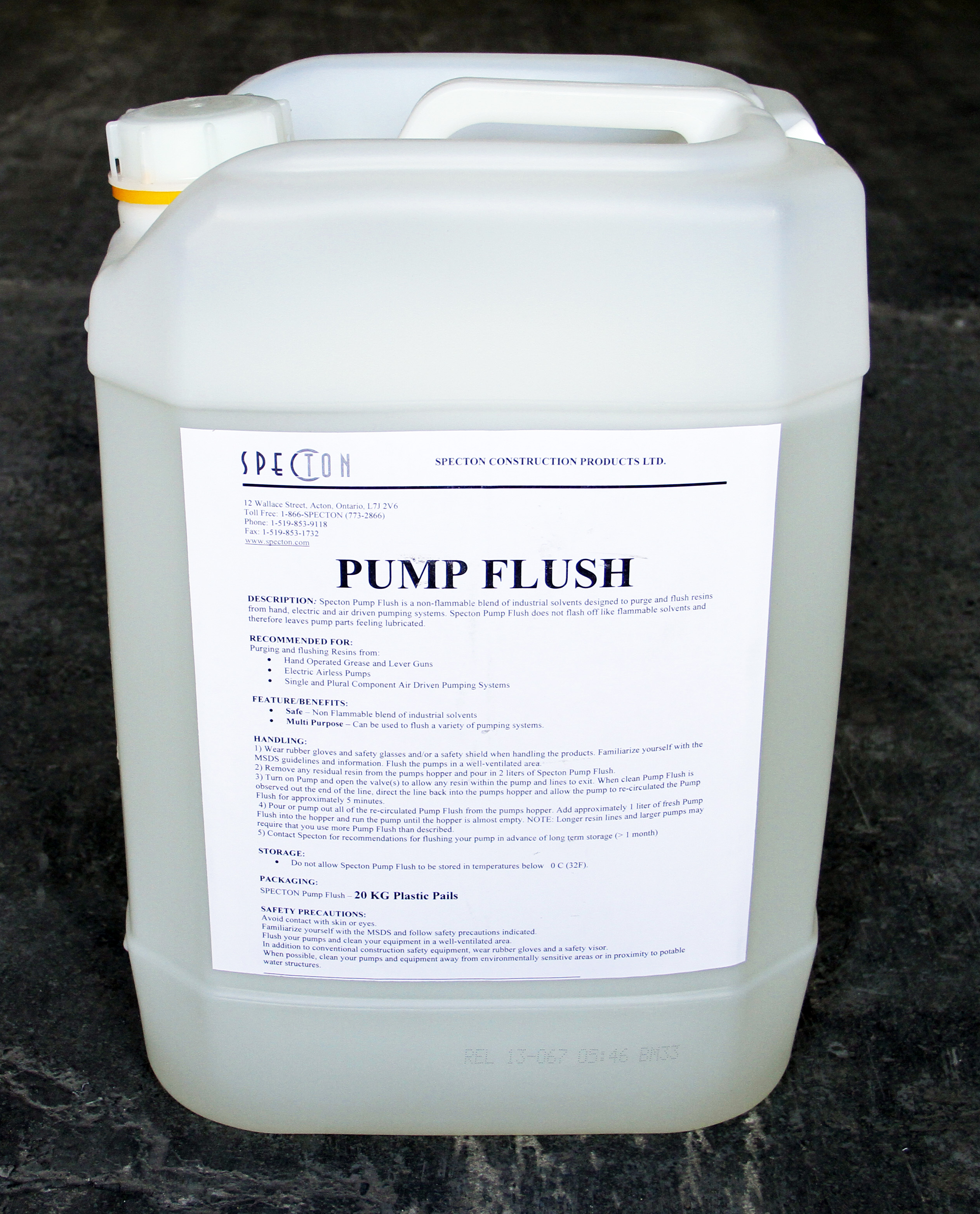 PUMP FLUSH