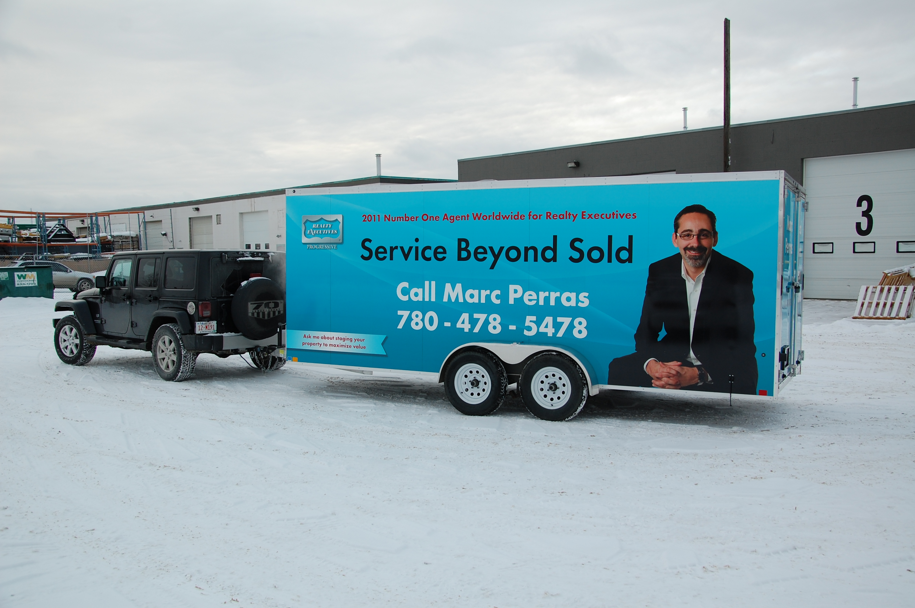 TRAILER WRAP DESIGN & INSTALL