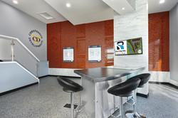 Sales Centre Logos & Standoffs
