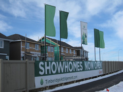 Fence Banner & Fly in the Wind Flags