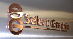 Copper 3D Metal logos