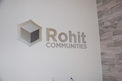 Metal Cut Logo and Letters